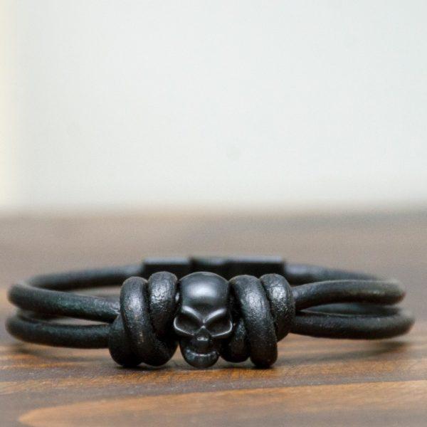 Pulseira WP – Modelo Black Skull