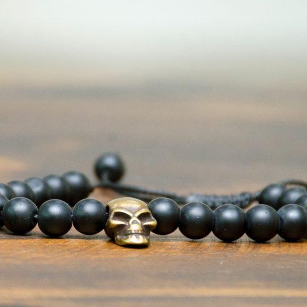 Pulseira WP – Modelo Gold Skull